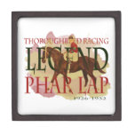 Phar Lap - Thoroughbred Horse Racing Legend Premium Trinket Boxes