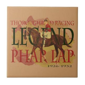 Phar Lap - Thoroughbred Horse Racing Legend Tiles