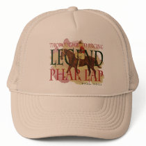 Phar Lap - Thoroughbred Horse Racing Legend Trucker Hat