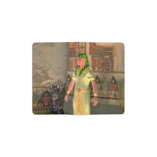 Pharao in the pyramid pocket moleskine notebook cover with notebook