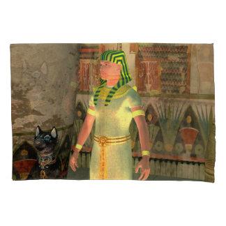 Pharao in the pyramid pillowcase