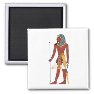 Pharaoh 2 Inch Square Magnet