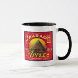Pharaoh Apple Crate LabelHood River, OR Mug