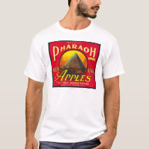 Pharaoh Apple Crate LabelHood River, OR T-Shirt