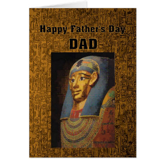 Pharaoh Dad Happy Father's Day Humor Card