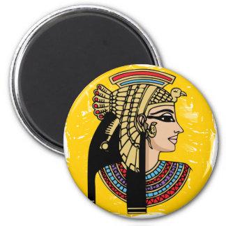 Pharaoh de Egipto Imán Redondo 5 Cm