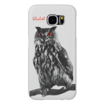 Pharaoh Eagle Owl Phone Case