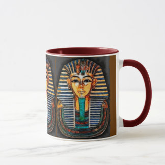 Pharaoh egipcio antiguo Tutankhamen Taza