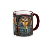 Pharaoh egipcio antiguo Tutankhamen Tazas De Café