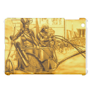 Pharaoh egipcio en su carro