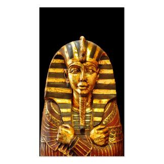 Pharaoh egipcio tarjetas de visita