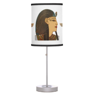 Pharaoh Egyptian Folk Art Table Lamps