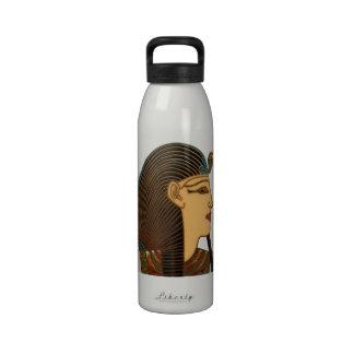 Pharaoh Egyptian Folk Art Drinking Bottle