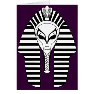 Pharaoh extranjero tarjeta de felicitación