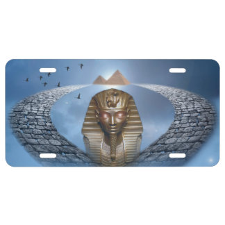Pharaoh Fantasy License Plate