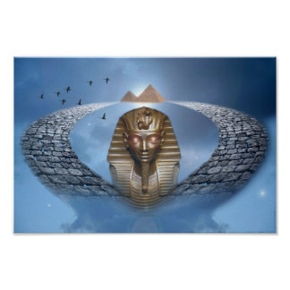 Pharaoh Fantasy Poster