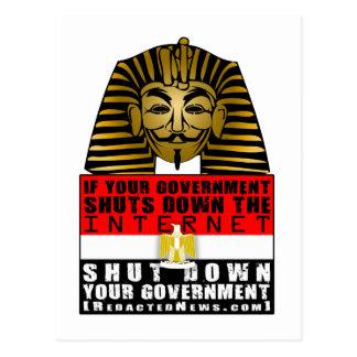 Pharaoh Fawkes Postcard