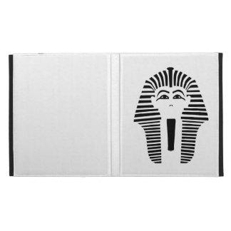 Pharaoh head face iPad cases