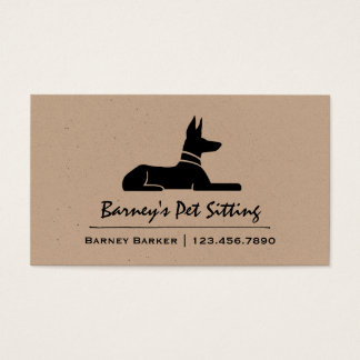 Pharaoh Hound Business Card