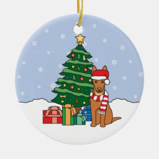 Pharaoh Hound Christmas Ornament