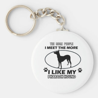 Pharaoh Hound designs and gifts Keychains