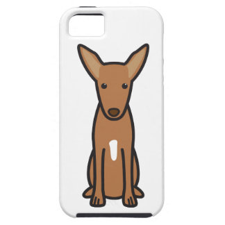 Pharaoh Hound Dog Cartoon iPhone 5 Cover