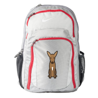 Pharaoh Hound Dog Cartoon Nike Backpack