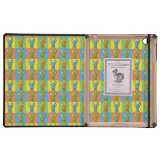 Pharaoh Hound Dog Cartoon Pop-Art iPad Folio Cases