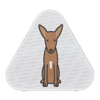 Pharaoh Hound Dog Cartoon Speaker