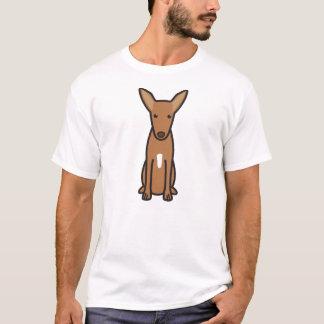 Pharaoh Hound Dog Cartoon T-Shirt