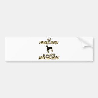 pharaoh hound DOG designs Bumper Sticker