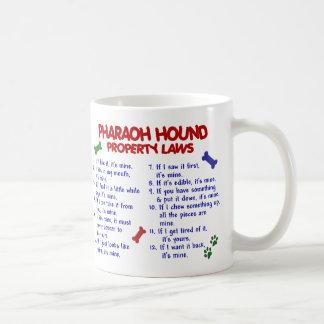 PHARAOH HOUND PL2 CLASSIC WHITE COFFEE MUG