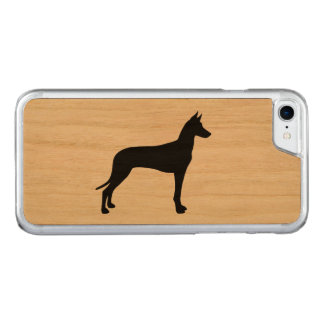 Pharaoh Hound Silhouette Carved iPhone 7 Case