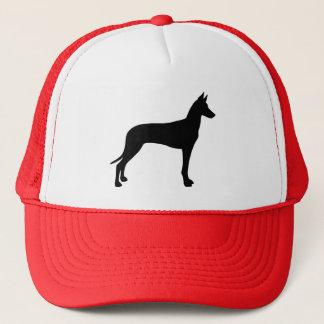 Pharaoh Hound Silhouette Trucker Hat