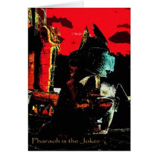 Pharaoh is the Joker - Card