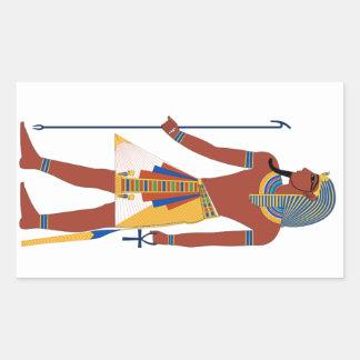Pharaoh Rectangular Sticker