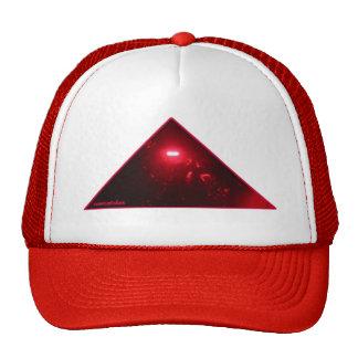 pharaoh rojo en rojo gorras de camionero