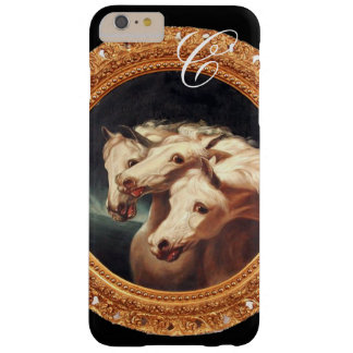 Pharaoh's Chariot Horses Monogram Barely There iPhone 6 Plus Case