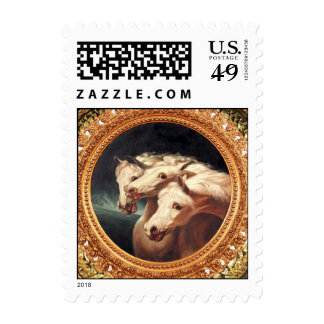Pharaoh's Chariot Horses Postage Stamp