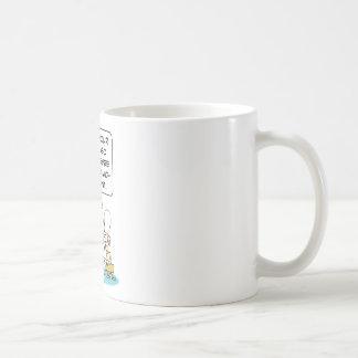 Pharaoh says Moses must be pyramid-compliant. Coffee Mug