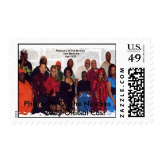 Pharaohs de los años noventa sellos