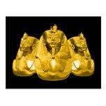 Pharaohs de oro postal