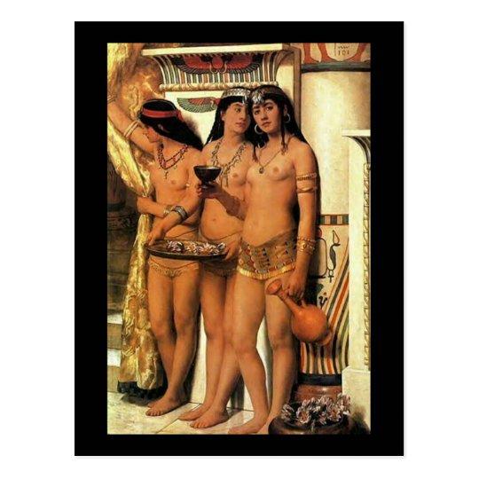 Pharaoh's Handmaidens Postcard