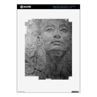 Pharaon and Cleopatra designs on i-Pad sleeve Skins For iPad 3
