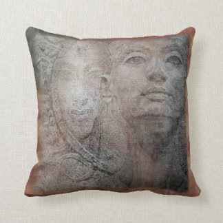 Pharaon, egipcio de Cleopatra diseña la almohada Cojín Decorativo