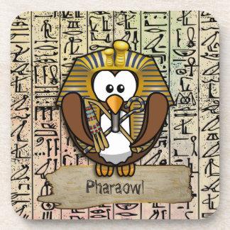 Pharaowl home decor drink coaster