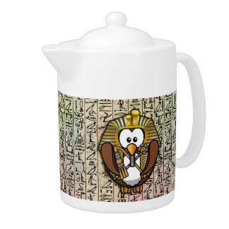 Pharaowl home decor teapot
