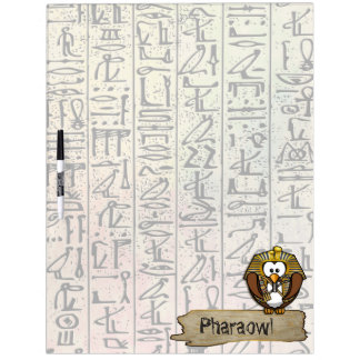 Pharaowls papershop dry erase board