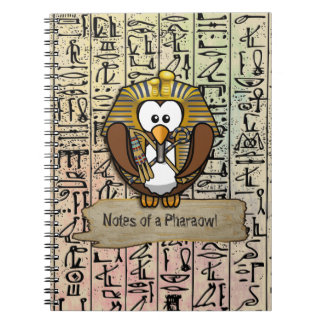 Pharaowls papershop notebook