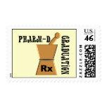 Pharm-D Graduation Postage Stamps